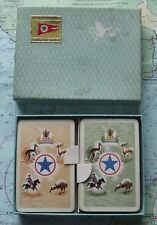 Twin Box c1960 Blue Star Steamship Line Playing Cards
