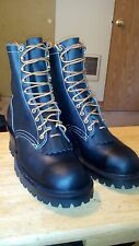 White's Smoke Jumper Hathorn Lineman Logger Boots Steel toe size 9 NEW