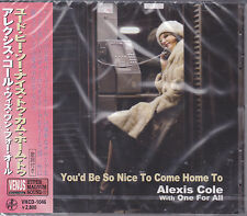 "Alexis Cole & One For All ""You'd Be So Nice To Come Home To"" Japan Venus Jazz CD"