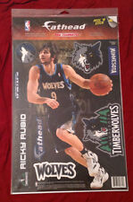 "RICKY RUBIO Fathead Teammate 9.5""x16.5"" Teammates T-Wolves +Extra Wall Graphics"