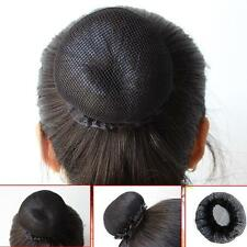 Black Bun Cover Snood Hair Net Ballet Dance Skating Women Black Hairnets 10 Pcs