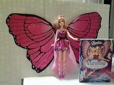 Barbie Mariposa Doll and the movie in DVD
