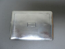 ANTIQUE STERLING SILVER CIGARETTE CASE, NICE HEAVY WEIGHT of 151 GRAMS