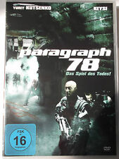 Paragraph 78 - Spiel des Todes (Mischung aus Doom & Alien) Blut gefriert - NEU!!