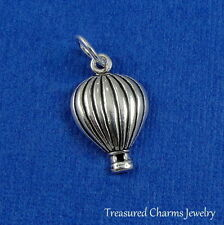 .925 Sterling Silver HOT AIR BALLOON CHARM Wizard of Oz PENDANT