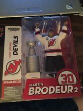 McFarlane NHL Martin Brodeur 2 Figure MOC New Jersey Devils  w/Stanley Cup