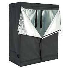 "48""x24""x60"" Indoor Grow Tent Room Reflective 600D Mylar Hydroponic Non Toxic Hut"
