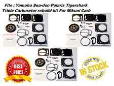 3 Sets YAMAHA TRIPLE MIKUNI CARB REBUILD KITS GP XL SUV 1200 LS2000 AS LS LX 210
