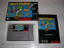 Yoshi`s Cookie, Super Nintendo SNES Game, Boxed With Manual, Trusted Ebay Shop