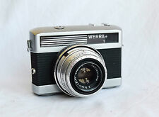 Vintage German Camera WERRA 1 * Lens Carl Zeiss Jena 2.8/50 Tessar , n134