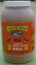 CAJUN LAND CRAB SHRIMP CRAWFISH BOIL COMPLETE 4 POUNDS! 64 OZS! Free boil recipe