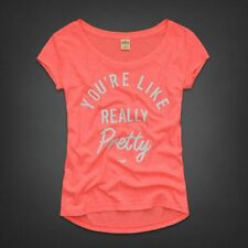 HOLLISTER ABERCROMBIE & FITCH SAN PEDRO BAY MEAN GIRLS REALLY PRETTY TEE TOP M!