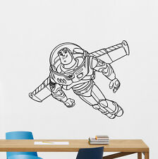 Buzz Lightyear Toy Story Wall Decal Vinyl Sticker Nursery Decor Poster 198hor