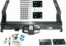"""1999-2016 FORD F250 F350 TRAILER HITCH W/ WIRING CLASS V 2-1/2"""" TOW RECEIVER NEW"""