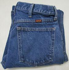 Rustler Mens Blue Jeans 32 x 34 Bootcut Denim