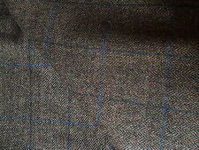 Herringbone Tweed All Wool Made in England 2.50 MTRS Trousers Jacketing Fabric