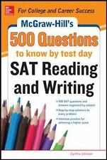 McGraw-Hill's 500 SAT Critical Reading Questions to Know by Test Day (-ExLibrary