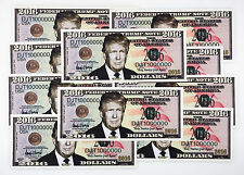 10 USA Donald Trump fantasy paper money for President 2016
