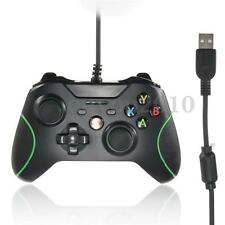 OUYOU Manette Contrôleur USB Filaire Pr XBOX ONE Double Vibration LED Indicateur