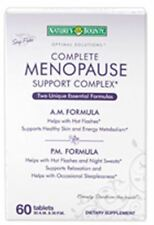Nature's Bounty Optimal Solutions Complete Menopause Support Complex 60