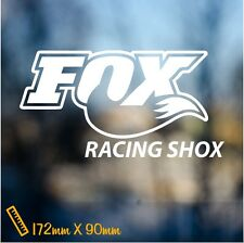 Fox Racing Shox Sticker Bike Vinyl Decal Forks Cycling Mountain Road Bike