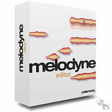 Celemony Melodyne Editor 2 DNA Direct Note Access Pitch Correction Software