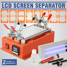 8'' Separatrice LCD Vetro Riparazione Kit Touch Screen Separator LED Display