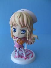"Macross Frontier  Kyun Chara ""Sheryl Nome"" 3.5""IN PVC FIGURE  ""LOOSE"""