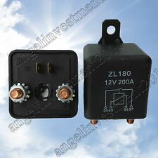 New 12V 200A Heavy Duty Split Charge ON/OFF Relay Car Truck Boat