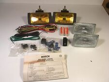 Bosch Volvo 240 244 245 242 Fog Light Set Kit Relay Switch Lights NEW OEM Pilot