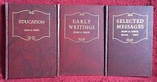 Ellen G White Book Trio: Education ~ Early Writings ~ Selected Messages Two SDA