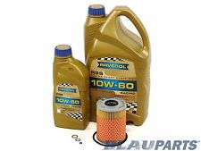 BMW Oil Change Kit M3 Z3 M Z4 M - E46 E36 E85 - 3.2L I6 01-08 Ravenol 10W-60 Oil