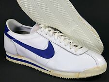 1983 Nike Cortez Leather Sz 15 White/Royal - vintage original 80s 1980s rare new