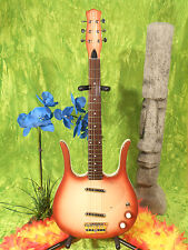 Danelectro 58 Longhorn Guitar 6 String Copper Burst Reissue NEW in Box!