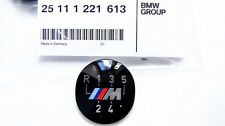 Genuine BMW E60 E39 E46 E36 E34 E30 M 5-Speed Gear Knob Badge Emblem 25111221613