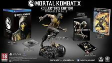 Mortal Kombat X PS4 Kollectors Collectors Edition Limited NEU NEW
