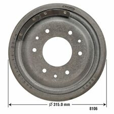Brake Drum Rear/Front DURALAST by AutoZone 8106