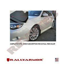 Rally Armor Basic Mud Flaps For 08-11 Subaru Impreza 2.5i 08-10 WRX Black