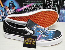 Vans Classic Slip On Star Wars A New Hope Men's Size 9.5