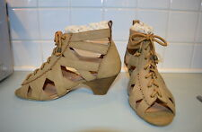AXES FEMME brown gladiator sandals shoes ~ L ~ UK 6 ~ EU 39 ~ JAPAN ~ LOLITA