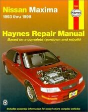 Nissan Maxima: 1993-1999 (Haynes Repair Manual)