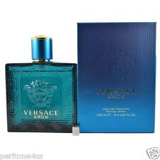 Eros by Versace, 3.4 oz Eau De Toilette Spray for Men Brand new sealed