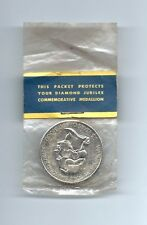 1964 WASHINGTON STATE DIAMOND JUBILEE MEDAL MEDALLION SEALED in ORIGINAL PACKAGE