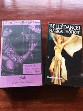 Lot Of Two Belly Dancing VHS Videos Learn How To & Vol 3 Tribal Basics