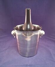 Miser Dream Bucket Pail Mechanical Coin Drop Large Chrome Plated Magic Trick