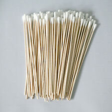 "Cotton Swabs Swab Applicator Q-tip 100 Pieces 6"" EXTRA LONG Wood Handle STURDY!"