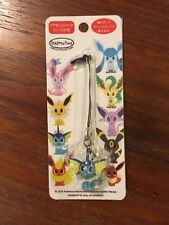 Pokemon Time Eevee Collection Vaporeon Strap Figure Phone Charm USA SEALED NEW
