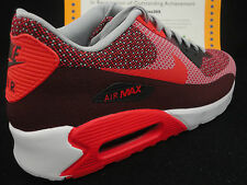 Nike Air Max 90 JCRD, Jacquard, Red / Infrared, Size 13