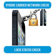 IPHONE 3G 3GS 4 4S 5 5S 5C 6 6+ or IPAD NETWORK CHECK SERVICE IMEI & LOCK STATUS