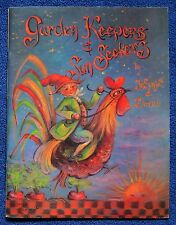 Garden Keepers Sun Seekers Painting Book Jo Sonja David Jansen Folk Art - Unused